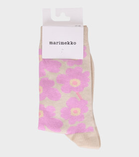 Hieta Unikko Socks Pink