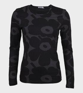 Hiili Pieni Unikko Blouse Black/Grey
