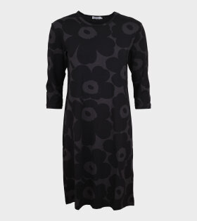 Vehreys 2 Pieni Unikko Dress Black/Grey