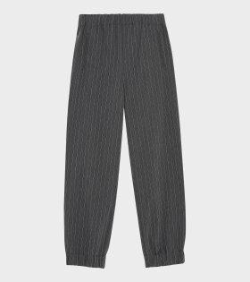 Elasticated Pants Phantom Grey