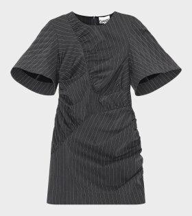 Mini Stretch Dress Phantom Grey