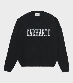 W University Sweater Black