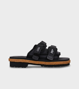 Moto Mountain Sandals Black