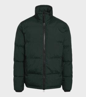 Recycle Junos Jacket Scarab Dark Green