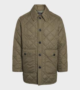 Field Quilt Javi Jacket Capers Green