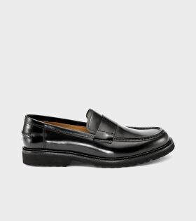 Belt Loafer Black Polido