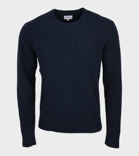 Sigfred Alpaca Merino Knit Blue