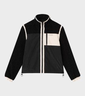 Dave 2 Fleece Jacket Black
