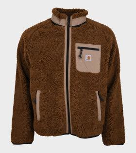 Prentis Liner Fleece Jacket Brown