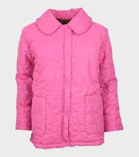 Roma Floral Quilted Jacket Pink