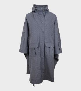 Cape Raincoat Heather Grey