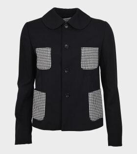 Four Pocket Ladies Jacket Black