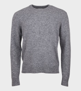 Sigfred Alpaca Merino Knit Grey