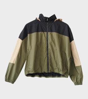 Poplin Tracksuit Jacket Green