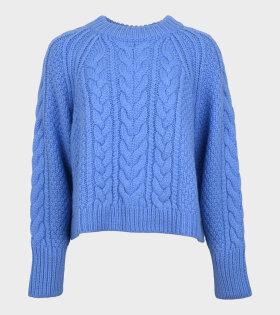 Gloria Jumper Knit Blue