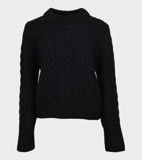Geneva Knit Jumper Black