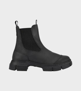 Chelsea Rubber Boot Black