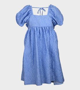 Tilde Dress Blue/White