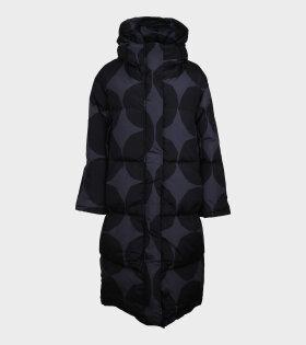 Matkalla Kivet Down Jacket Black/Grey