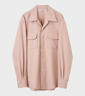 Poco Shirt Tech Wool Dusty Pink