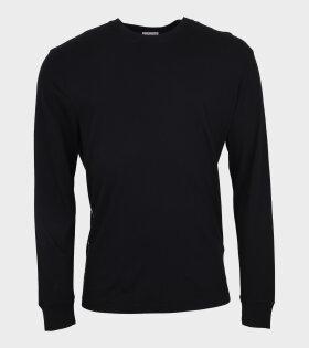 Logo LS T-Shirt Black