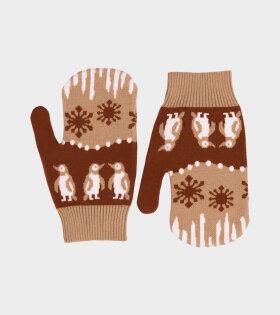 Les Gloves Brown Landscape