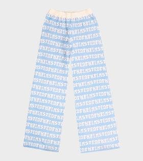 Logo Pants Blue